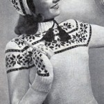 Vintage knitting pattern: Topnotcher