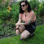 Tutorial: Restyle vintage trousers into shorts