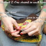 VKC: Getting started with stranded (fair isle) knitting