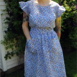 Finished project: No-more-sewing-slump dress