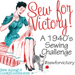 I'll be Sewing for Victory, will you?
