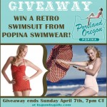 Popina Swimwear retro swimsuit giveaway!