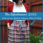My guest post today on The Refashioners!