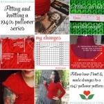 Resources roundup for the fit & knit a 40s pullover series