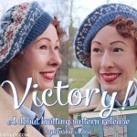 Debut knitting pattern release: Victory