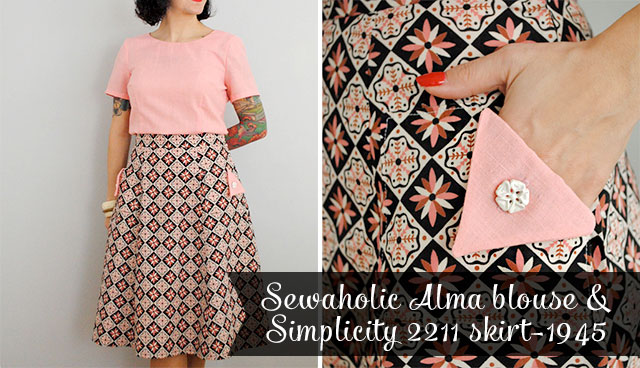 Sewaholic Alma and Simplicity 2211