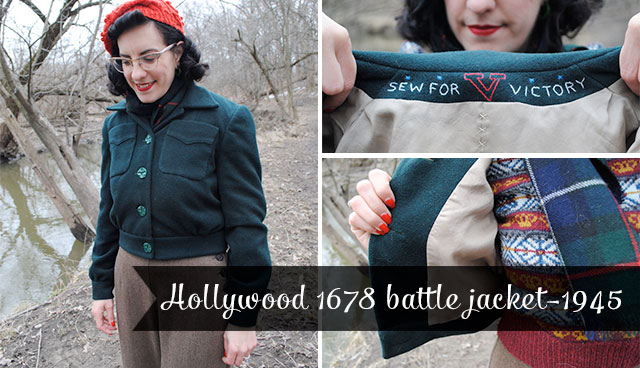 Hollywood 1678 battle jacket