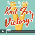 Knit for Victory finished projects video