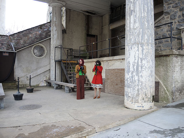 Tasha and Rochelle {By Gum, By Golly & Lucky Lucille} at National Park Seminary