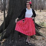 The Birdcage Dirndl Skirt