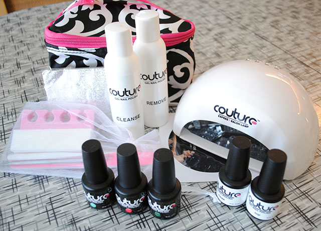 Couture gel polish kit