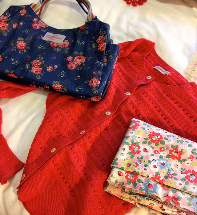 purchases from Cath Kidston