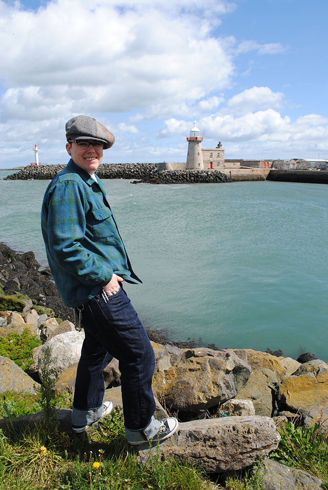 Mel at Howth, Ireland