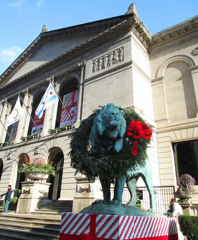 Art Institute lion