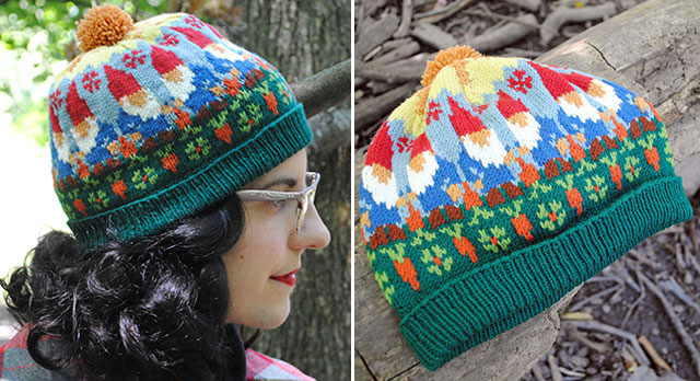 Nisse knitting pattern by Tasha Moss
