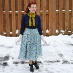 Joan C.'s flannel skirt
