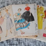 My pattern stash interview for Vintage Pledge at Kestrel Makes