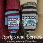 Knitting pattern release: Sprigs and Berries