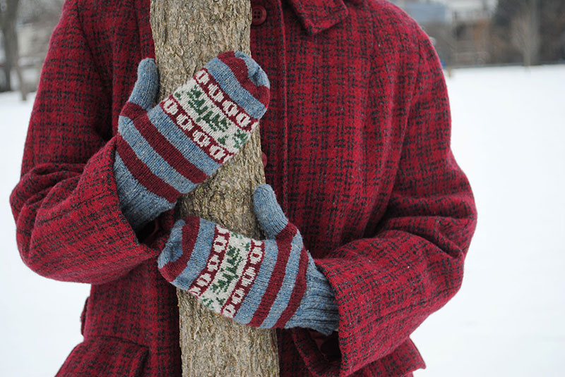 Sprigs and Berries knitting pattern by Tasha Moss