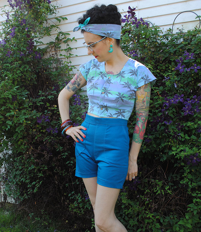 Butterick B5895 as shorts