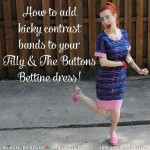 My Bettine hack tutorial at Sew Your Hart Out (and more of my new dress here)