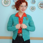 Not forgotten: Cath Kidston inspired cardigan