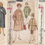 Change of coat making plans: now I'm doing a vintage pattern!