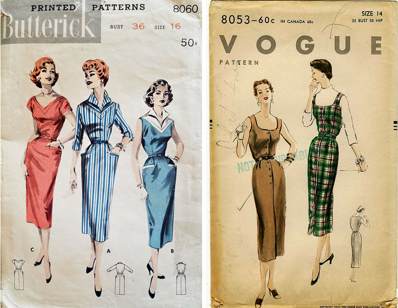 vintage-sheath-patterns