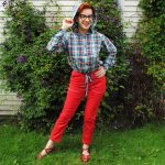 My first outfit for Mood Sewing Network!