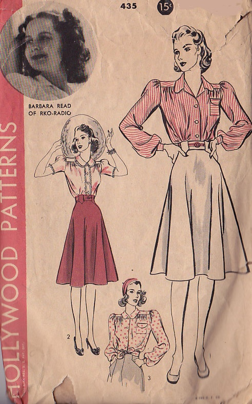 40s Patterns for Dresses